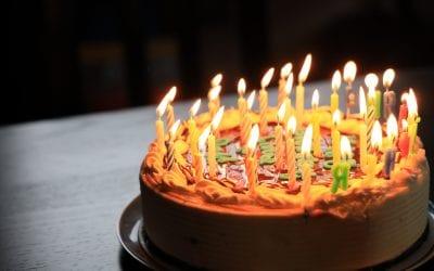 Tomorrow's my birthday